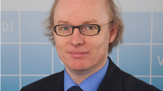 Dr. Andreas Hoffknecht, Senior Berater der VDI Technologiezentrum GmbH (VDI TZ)