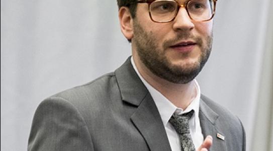 Matthias Max, Sachgebietsleiter Forschung und Bevölkerungsschutz beim Generalsekretariat des Deutschen Roten Kreuz (DRK)